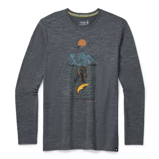 Smartwool Men's Merino Sport 150 Alpine Bear LS Graphic Tee