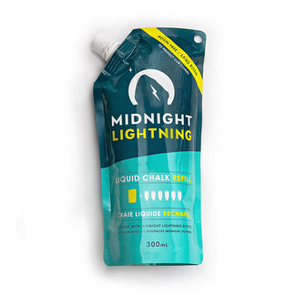 Midnight Lightning Climbing Liquid Chalk Refill Pack 300mL