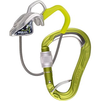 Edelrid MegaJul + HMS Bulletproof Screw FG