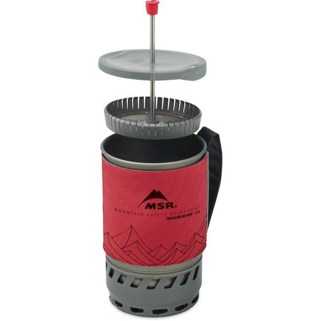 MSR Coffee Press Kit, Windburner 1L