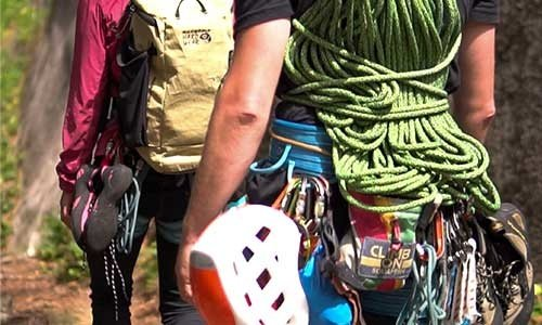 Trad and Aid Climbing Equipment