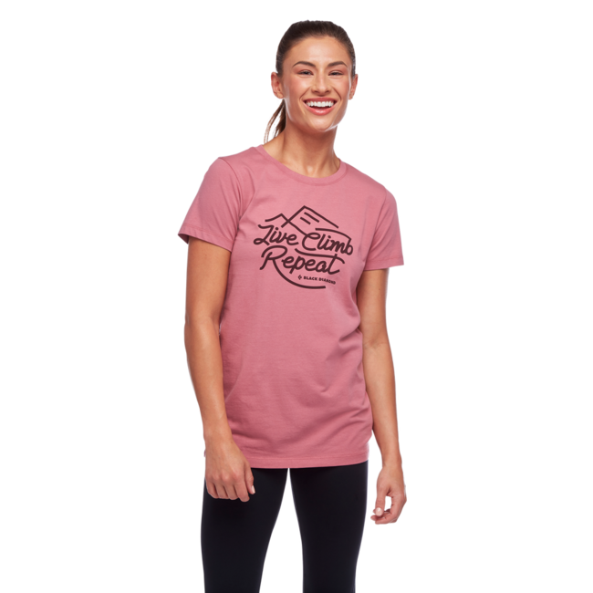 Black Diamond Women's Live Climb Repeat Tee