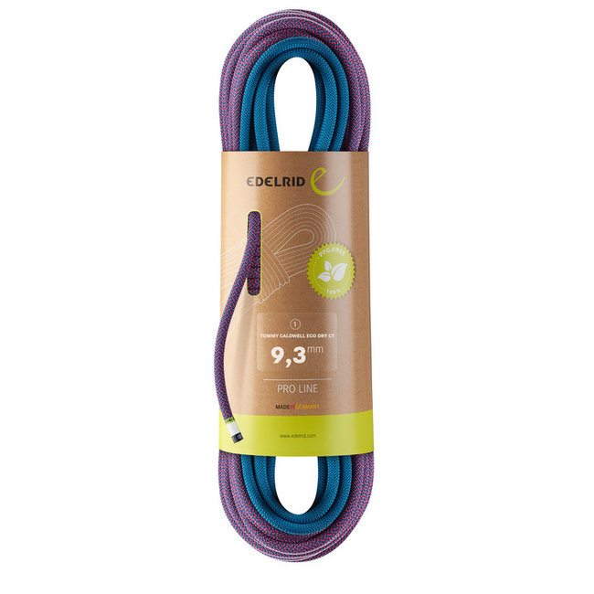 Edelrid Tommy Caldwell Eco Dry ColorTec 9.3mm