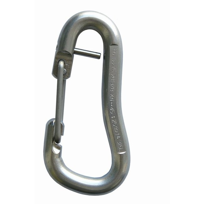 Raumer Lower-off Carabiner Captive-Eye 316L Stainless
