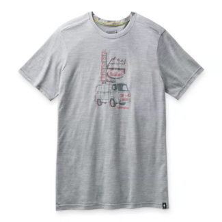 Smartwool Men's Merino Sport Van Days  Graphic Tee