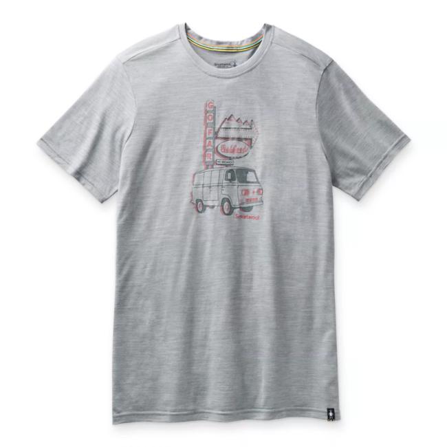 Smartwool Men's Merino Sport Van Days  Graphic Tee