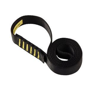 Sterling Rope 25mm (1 inch) Tubular Web Sewn Sling Black