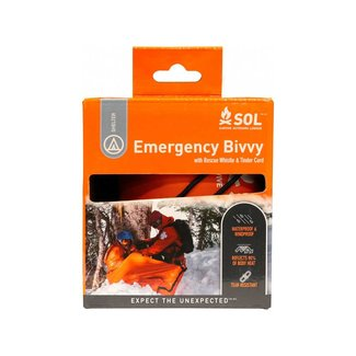 Survive Outdoors Longer Emergency Bivvy with Rescue Whistle
