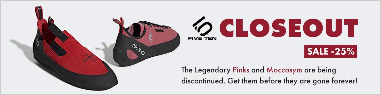 25% OFF Five Ten Rock Climbing Shoes