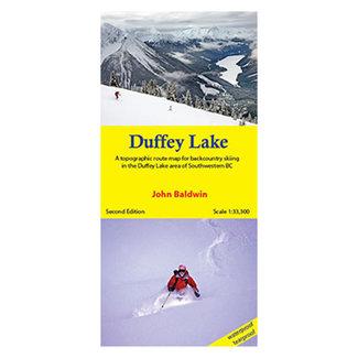 Duffey Lake Map
