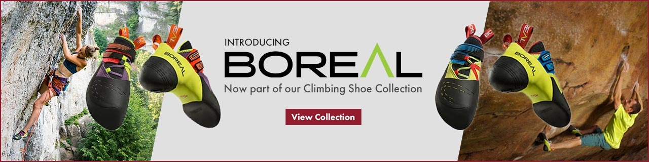 Introducing Boreal. Now part of our Climbing Shoe Collection.