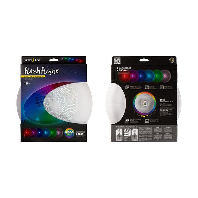 Nite Ize Flashflight Light Up Flying Disc