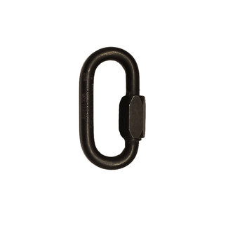 """8mm (5/16"""") Oval Quick Link Stainless Steel Black"""