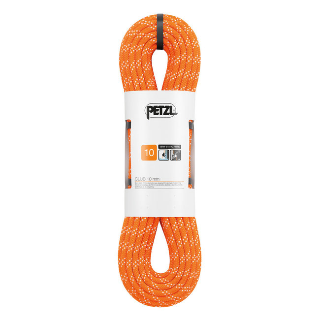 Petzl 10mm Club Static Rope