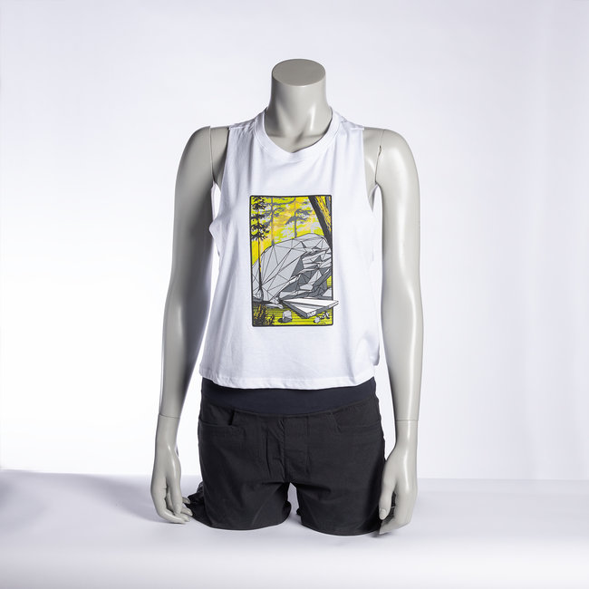 Climb On Squamish Women's Superfly Cropped Tank