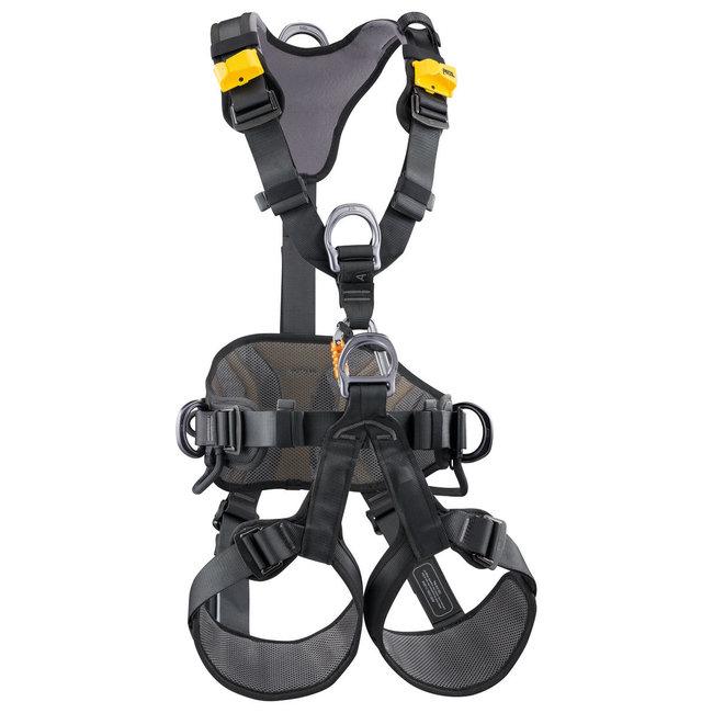 Petzl Avao Bod Harness Black / Yellow