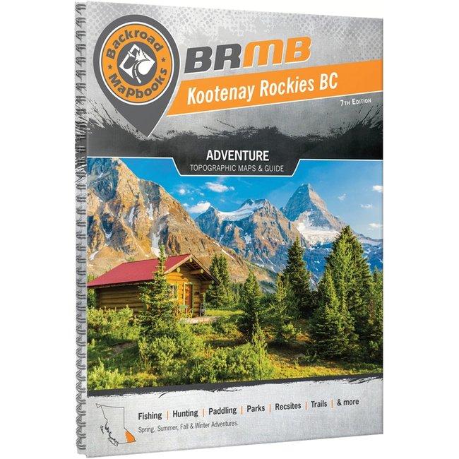 Backroad Mapbooks Kootenay Rockies BC