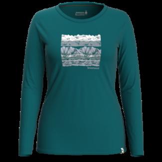 Smartwool Women's Merino Sport 150 Under A Midnight Sky Long Sleeve Graphic Tee