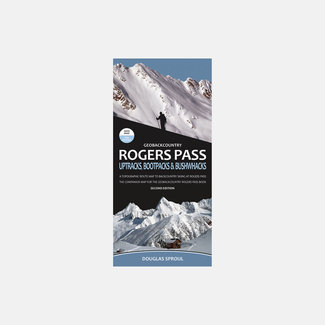 GeoBackcountry Rogers Pass Map, 2nd Edition