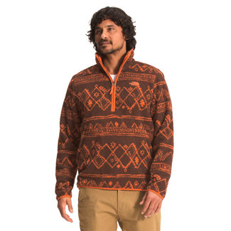 The North Face Men's Printed Dunraven Sherpa 1/4 Zip