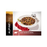 Alpine Aire Foods Beef and Rice Burrito Bowl