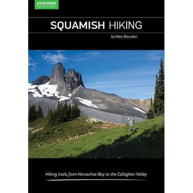 Quickdraw Squamish Hiking Guidebook