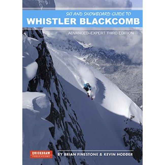 Quickdraw Publications Whistler Blackcomb Ski Guide Advanced