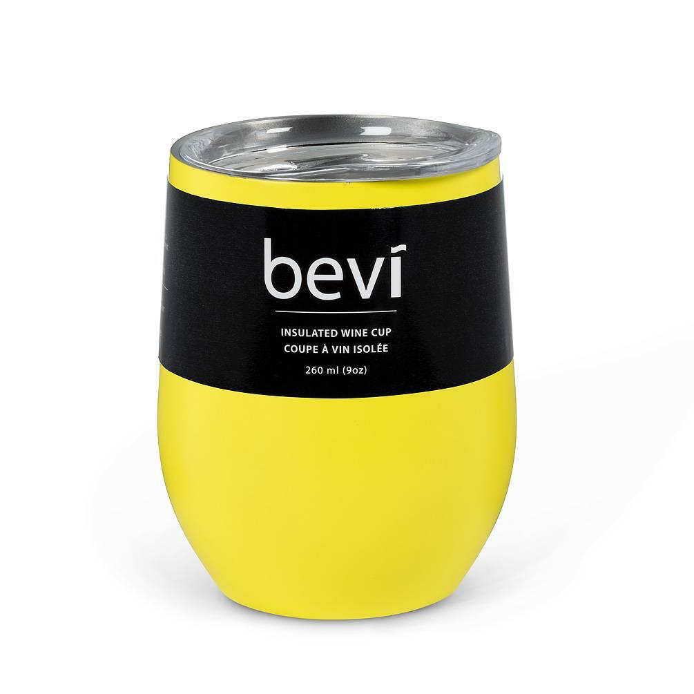 Insulated Wine Tumbler Yellow