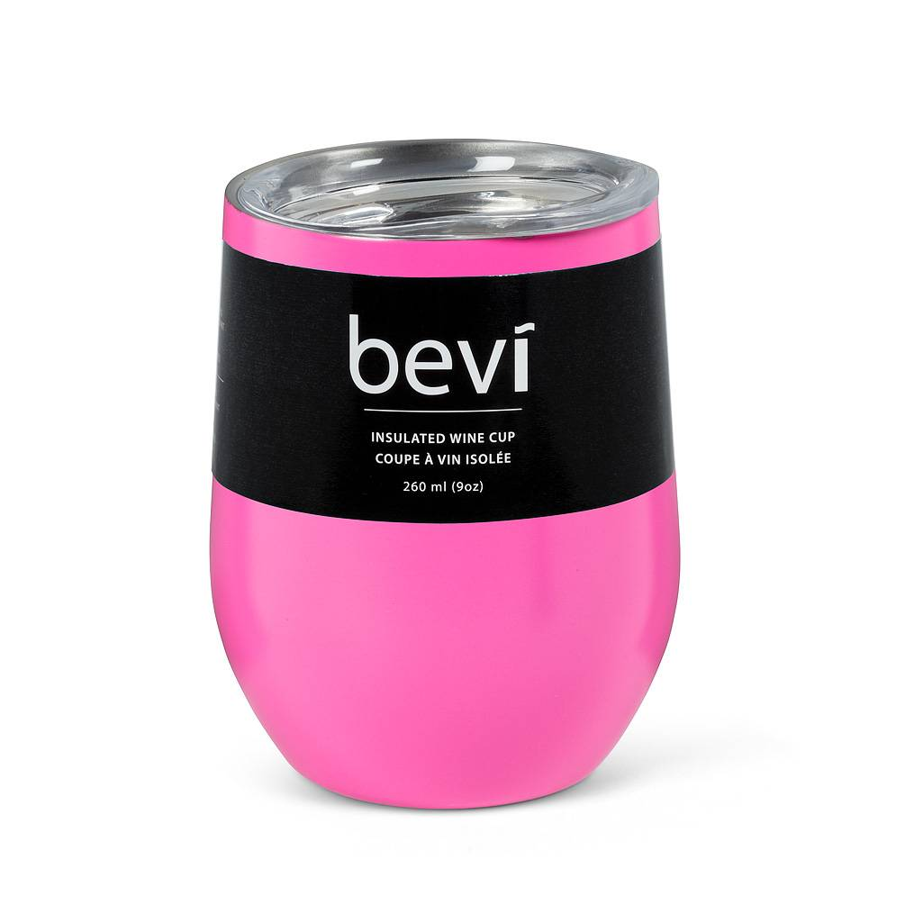 Insulated Wine Tumbler Pink