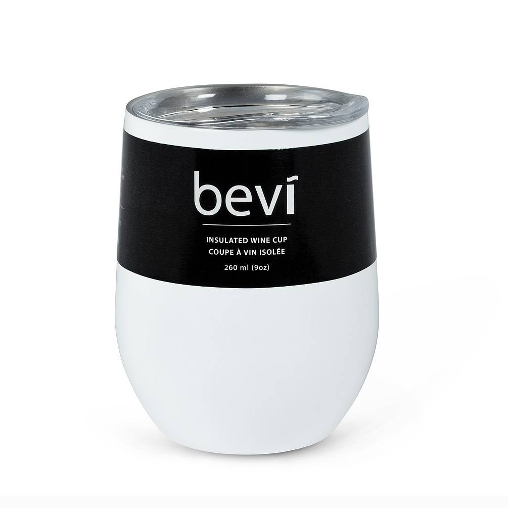 Bevi Insulated Wine Tumbler White