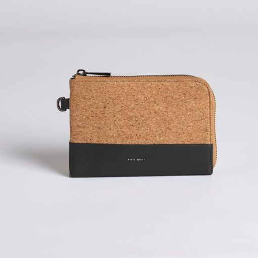 Pixie Mood Cameron Cork Wristlet - Black