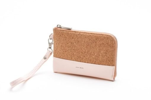 Pixie Mood Cameron Cork Wristlet - Blush