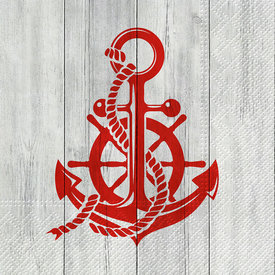 Anchor Style Paper Luncheon Napkin