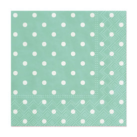 Mini Dots Paper Cocktail Napkin - Pack of 20