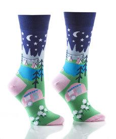 Yo Sox - Glamping - Ladies Crew Socks