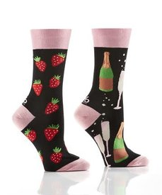 Yo Sox Bubble & Berry Ladies Crew Sock