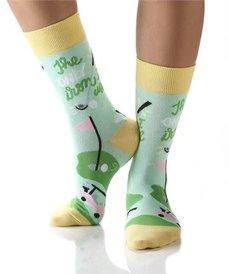Yo Sox Golf Life Ladies Crew Sock