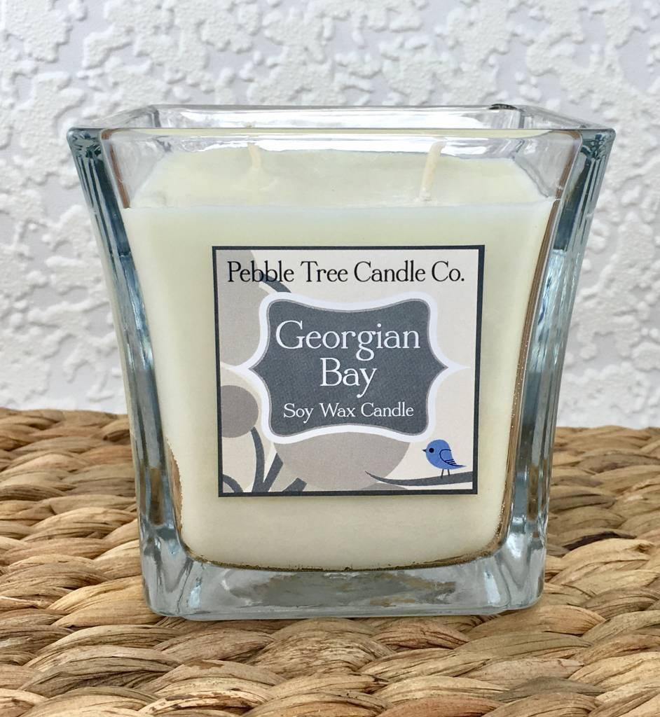 Pebble Tree Candle Co. Georgian Bay - Soy Wax Candle - 15oz Flare