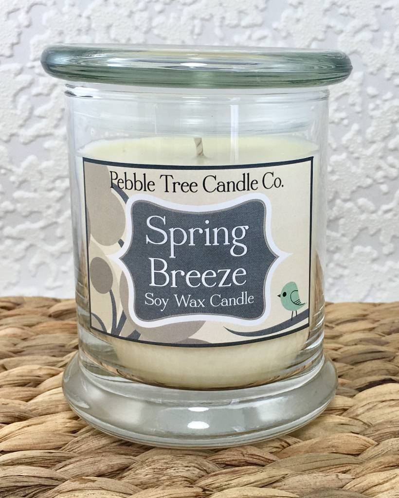 Pebble Tree Candle Co. Spring Breeze - Soy Wax Candle - 12oz Status