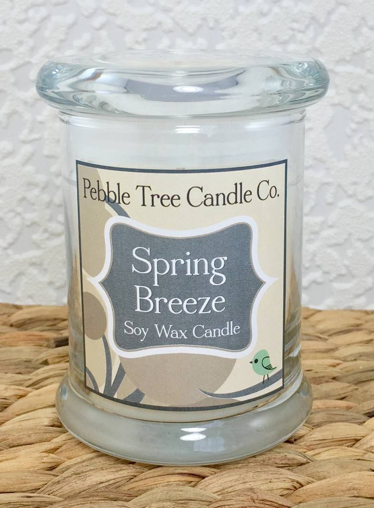 Pebble Tree Candle Co. Spring Breeze - Soy Wax Candle - 8oz Status