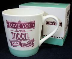 Home Decor Love You to the Moon and Back Mug