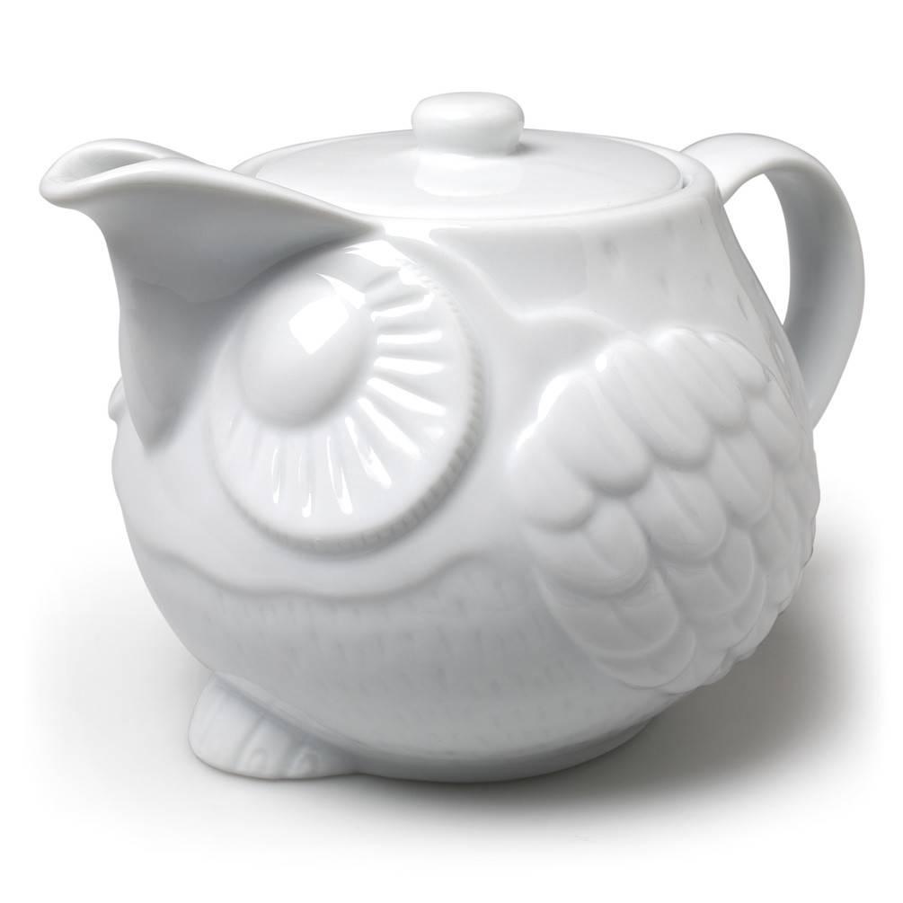 Home Decor Owl Teapot