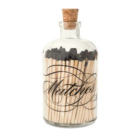 Skeem Design Apothecary Match Jar