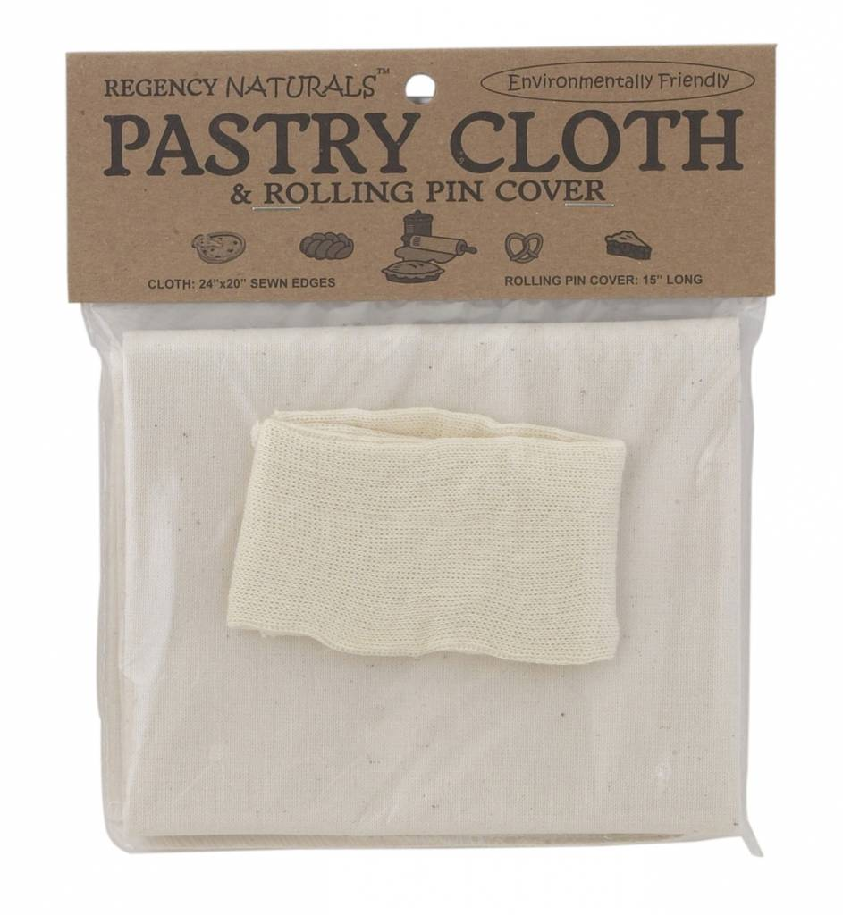 Natural Pastry Cloth & Rolling Pin Cover