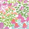 Caspari Multi Color Floral Napkins