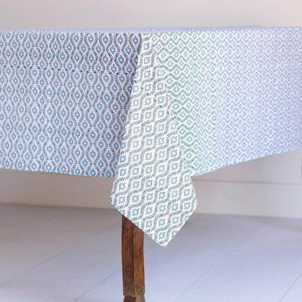 "Provence Blue Tablecloth - 55""x55"""