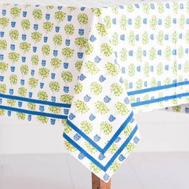 "Lemon TopiaryTablecloth - 55""x55"""