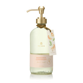 Mandarin Coriander Hand Wash, Glass Bottle