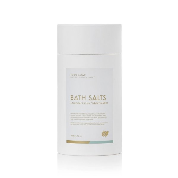YUZU Soap Bath Salts Tubes