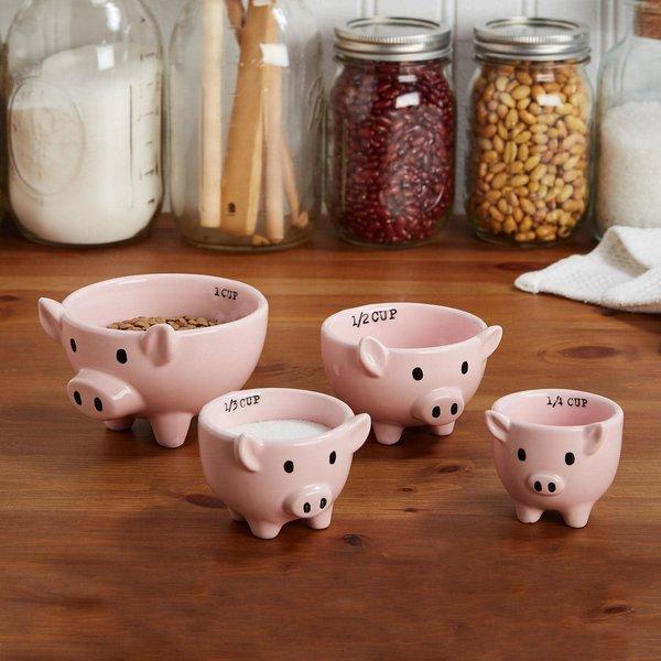 Pig Measuring Cups